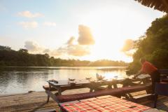 Fotoserie Kenia Moorings Sonnenuntergang