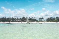 Fotoserie Kenia Strand und Palmen