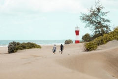Fotoserie Kenia in Lamu Dünen