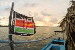 Fotoserie Kenia kenianische Flagge
