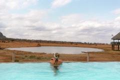 Fotoserie Kenia auf Safari im Pool