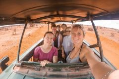 Fotoserie Kenia Safari mit Mädels