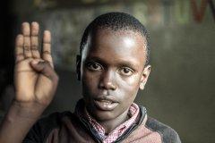 Fotoserie Kenia Zeichensprache