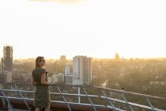 Fotoserie Kenia über den Dächern Nairobis