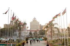 Fotoserie Kenia Nairobi Flagge
