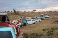 Fotoserie Kenia SAfariautos