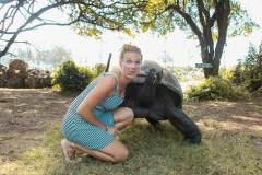 Fotoserie Kenia Selfie mit Schildkröte