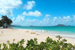 Fotoserie Hawaii weißer Strand