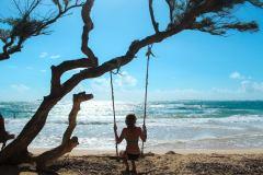 Fotoserie Hawaii Schaukeln