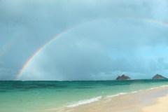 Fotoserie Hawaii Regenbogen