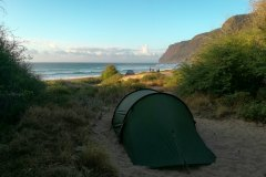 Fotoserie Hawaii Strandcampen