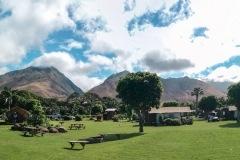 Fotoserie Hawaii Campingplatz
