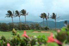 Fotoserie Hawaii Golfplatz