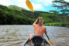 Fotoserie Hawaii Kajak
