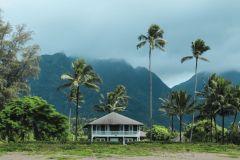 Fotoserie Hawaii Haus am Strand