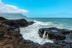 Fotoserie Hawaii Gischt