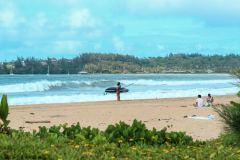Fotoserie Hawaii Surfen