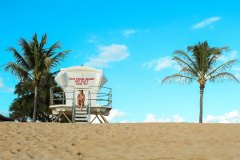 Fotoserie Hawaii Strandhaus