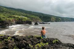 Fotoserie Hawaii Klippen