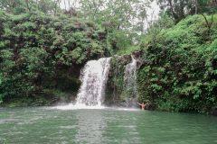 Fotoserie Hawaii Wasserfall
